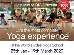 55 Days 500hr Yoga & Ayurveda Teacher Training in Chiang Mai, Thailand