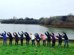 4 jours en stage de yoga et méditation au nouvel an dans le Sussex de l'Est, Grande-Bretagne