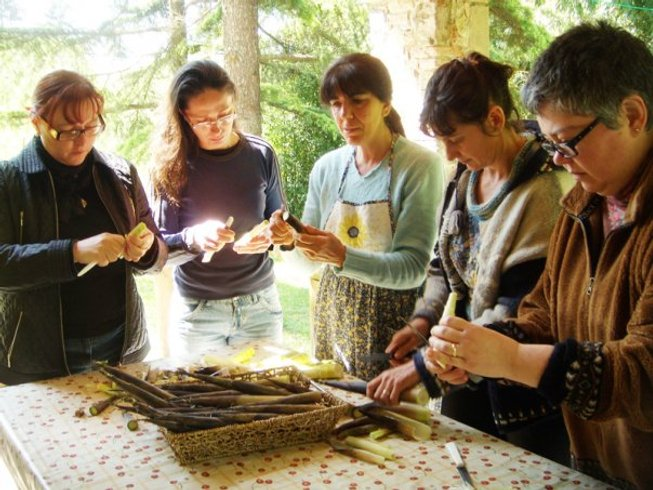 8 Days Organic Vegan Cooking Holidays in Tuscany, Italy