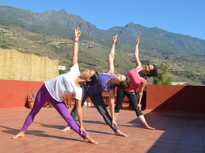 3 Days Positive Energy and Yoga Retreat in Tenerife, Spain