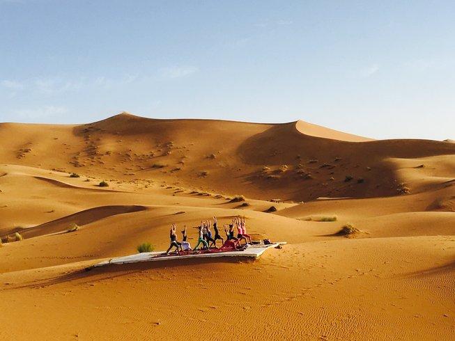 9 días de viaje a tu alma y retiro de yoga en Drâa-Tafilalet, Marruecos