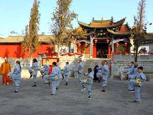 6 Days Authentic Shaolin Monk Martial Arts Training in Yunnan, China
