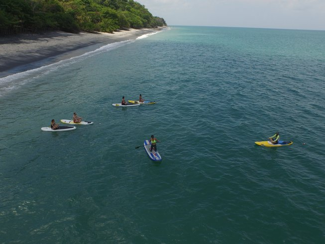 7 Days Tropical Adventure SUP and Yoga Retreat in Panama