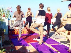 8-Daagse Zonnige Yoga Retreat en Surfkamp in Tamraght Marokko