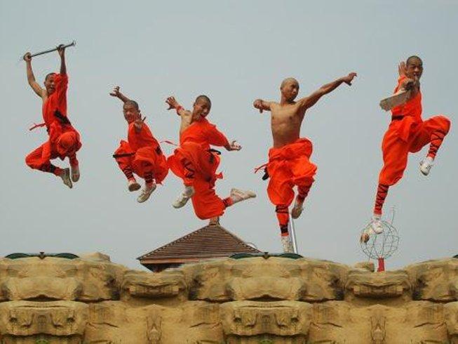 1 Month of Shaolin Kungfu in Jiaozuo City, Henan, China