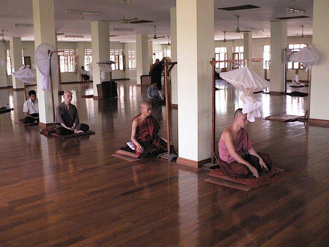 21 Days Spiritual Journey in Burma