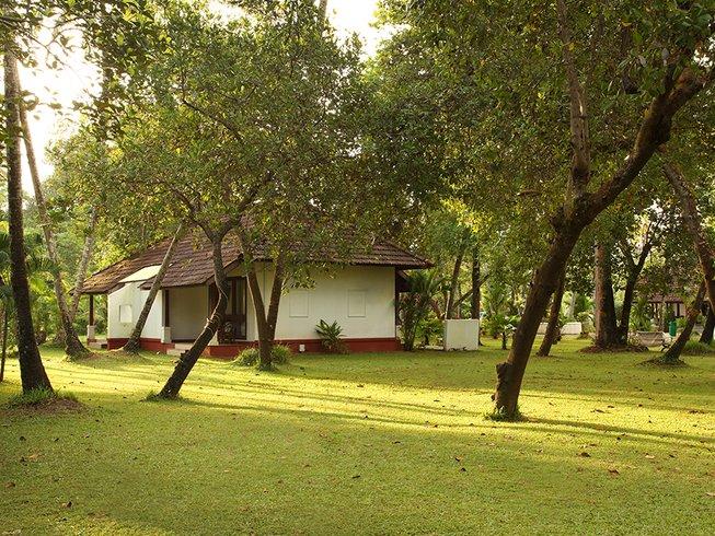 14 Tage Vielfältiges Yoga und Ayurveda Retreat in Kerala, Indien