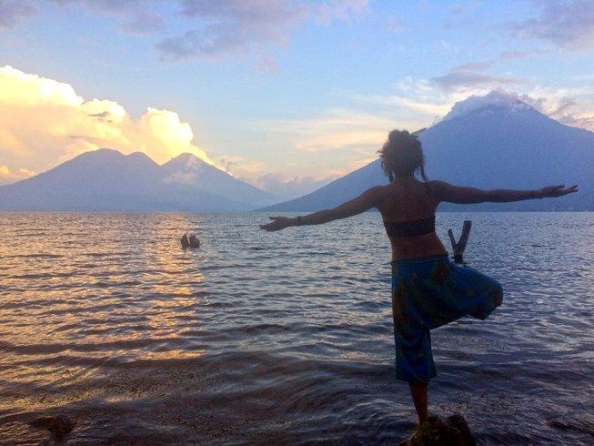 8 días de meditación y retiro de yoga en Lago Atitlán, Guatemala