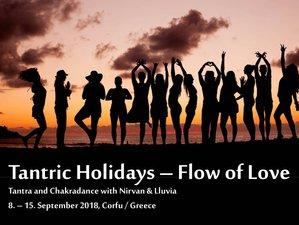 8 Tage Tantra Yoga und Chakradance auf Korfu, Griechenland
