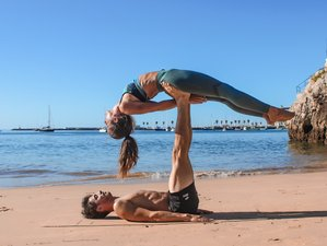4 Day AcroYoga Fly and Beach Fun Holiday in Cascais, Portugal