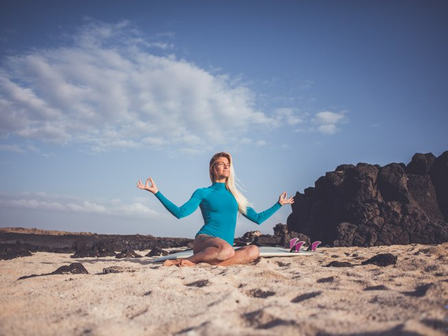 8 Days Ocean Escape Yoga Holiday in Fuerteventura, Spain