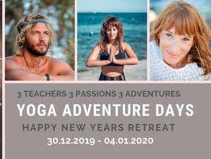 6 Days Yoga Adventure Happy New Year Retreat in Mallorca, Spain
