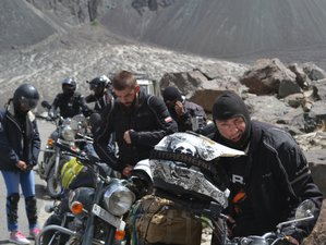 9 Day Old Silk Route: Spiti Valley Premium Guided Motorcycle Tour in India