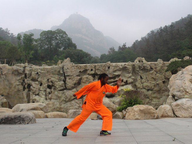 8 Months Martial Arts & Kungfu training with Weapons in China
