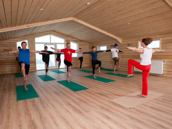 6 Days Yoga Retreat in Troll Peninsula, Iceland
