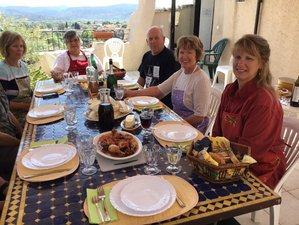 8 Day Art and Cooking Holiday in les Arcs, Provence
