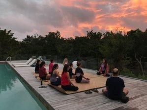18 Tage 200-Stunden Hatha und Vinyasa Yogalehrer Ausbildung in Chemuyil