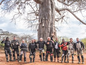 14 Day Bush to Beach Motorcycle Tour in Tanzania