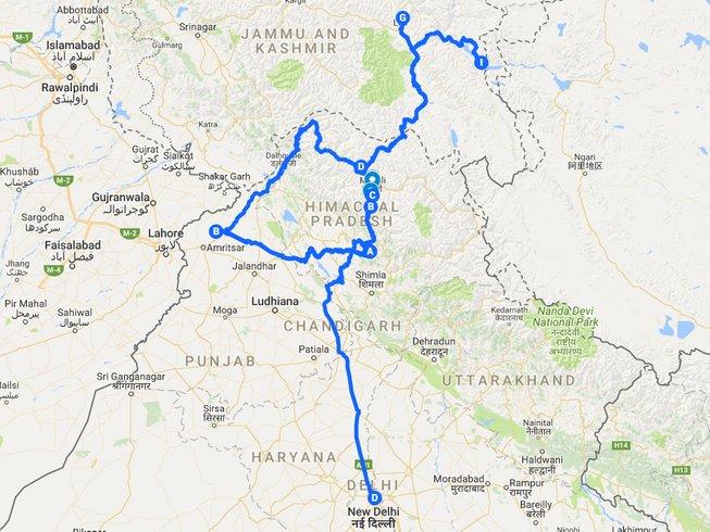 11 Days Trans Himalayan Motorcycle Tour India