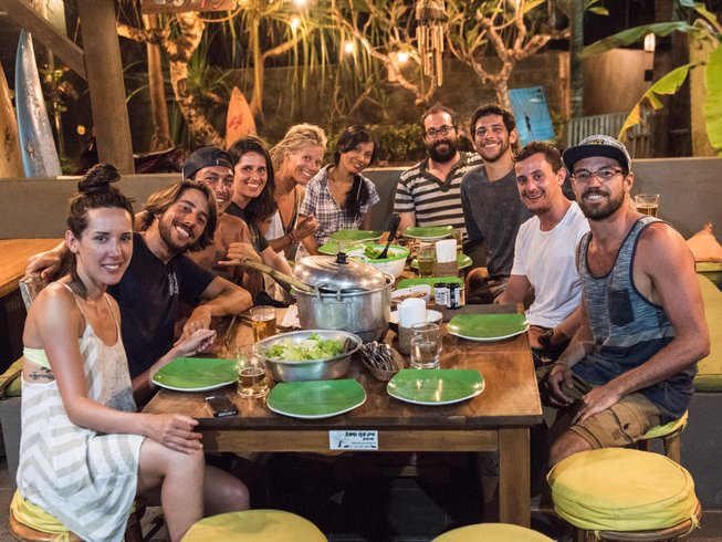 7 Days Surf and Yoga Retreat in Bali, Indonesia