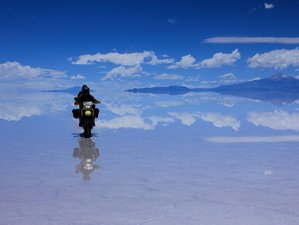 5 Day Salt Flat Adventure Guided Motorcycle Tour in Bolivia