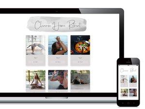 10 Tage The Yogis Cleanse Home Online Retreat mit Yoga und Vielem Mehr