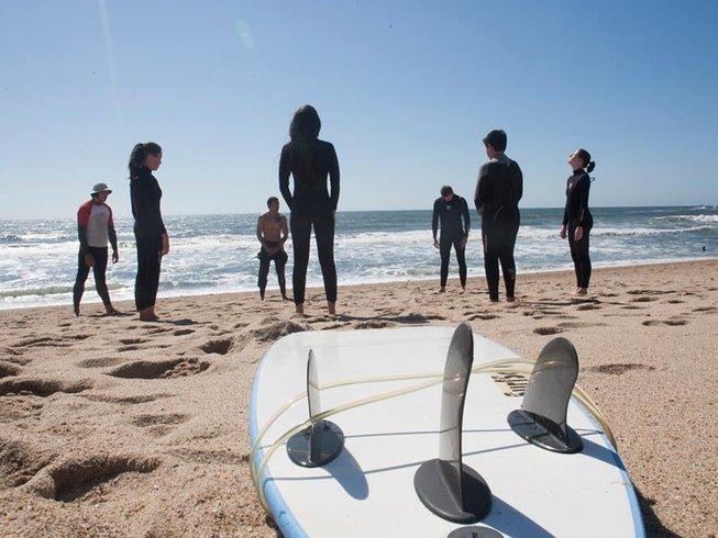 7 Days Beginner Surf Camp Tour in Porto, Portugal