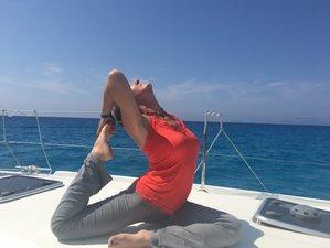 6 días de travesía Zen en catamarán con yoga y meditación por Formentera