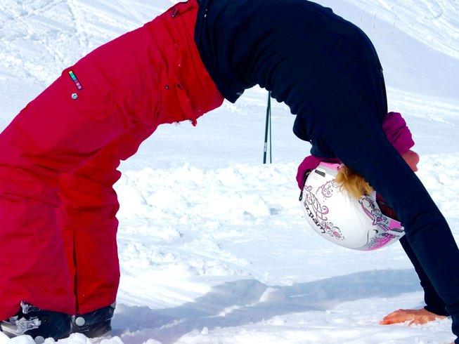 8 Days Skiing and Yoga Retreat in Auvergne-Rhône-Alpes, France