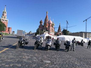 29 Days Russian Motorcycle Tour over the Trans-Siberian Route