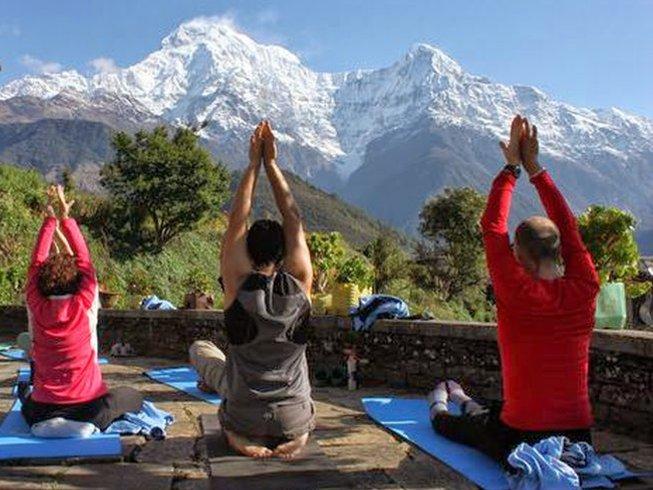 8 Days Detox, Meditation, and Yoga Retreat in Nepal