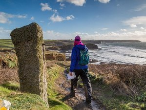 Beginners Yoga & Guided Coastal Walking Retreat in Cornwall, UK