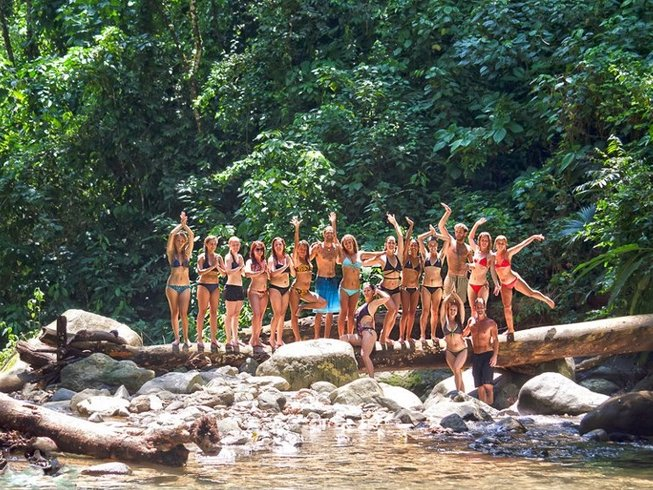 8 Days Budget Surf and Yoga Retreat in Costa Rica