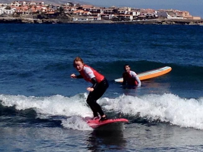 8 Days Surf Camp in Tenerife, Spain