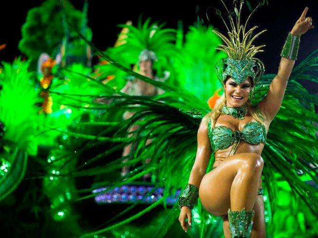 8 jours en stage de yoga pendant le carnaval de Rio de Janeiro, Brésil