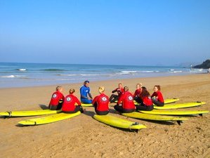 3 Days Weekend Surf & Yoga Retreat in Perranporth, UK