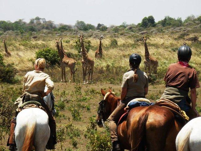 8 Days Horseback Safari in Tanzania. 8 Days Horseback Safari in Tanzania   BookAllSafaris com