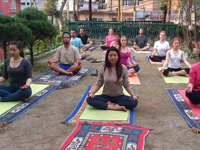28 jours-200h de formation de professeur de yoga à Kathmandu, Népal