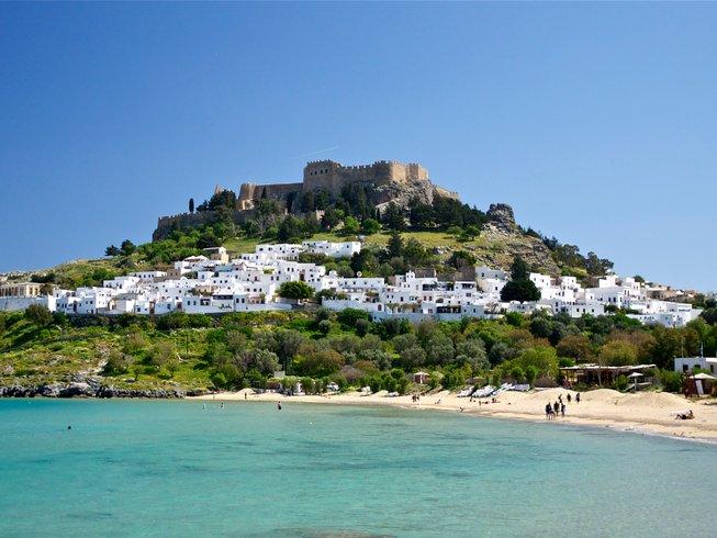 8 Days Kitesurfing for Beginners Surf Camp Greece