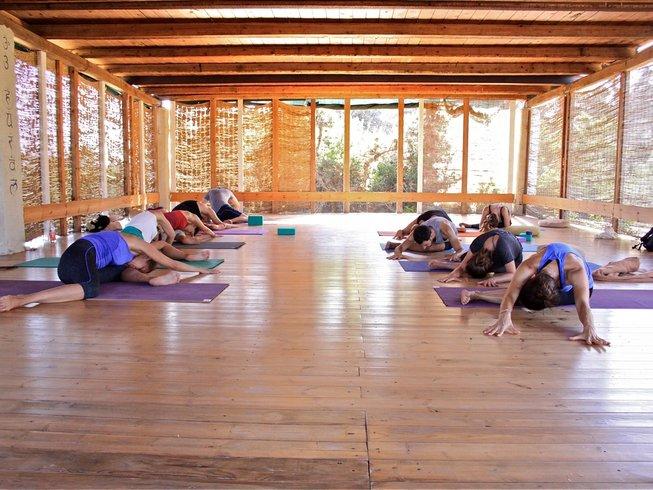 7 días de retiro de yoga Anusara en Grecia