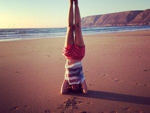 5 jours en stage de yoga en hiver à la plage à Tafedna, Maroc