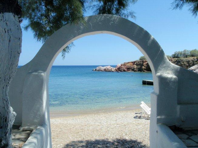 gate to ocean