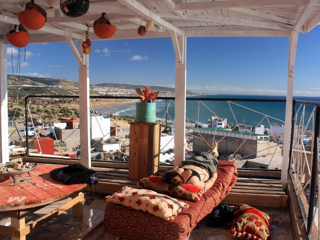 7 Days All-inclusive Yoga and Surf Camp in Taghazout, Morocco