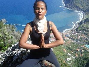 5 jours en retraite de yoga, air yoga, rando en pleine conscience et voilier sur l'île de Madère