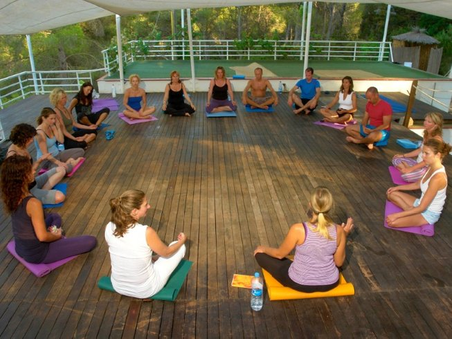 22 Days Ashtanga Yoga Retreat in Ibiza, Spain