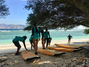 "5 Day Semi-Private ""Learn to Surf"" Camp in Gili Trawangan"
