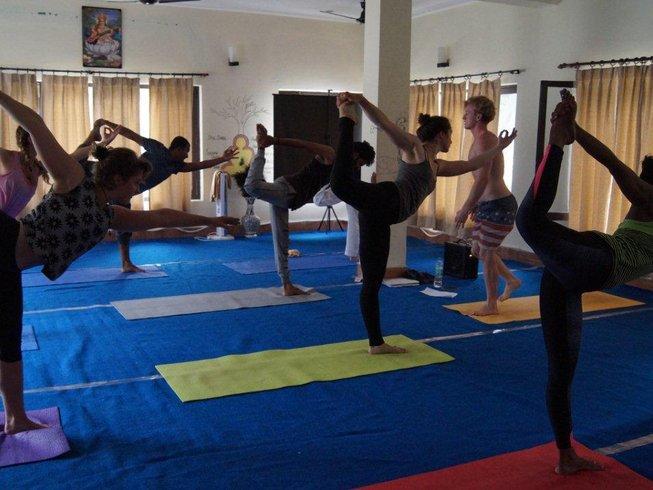 30 días 200 horas profesorado de yoga tradicional en India