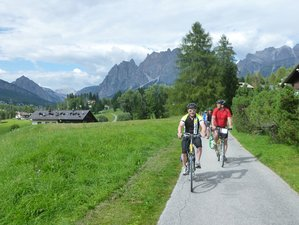 8 Days Round The Dolomites Bike Tour in Italy