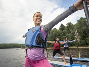 4 Days Quest for Balance SUP and Yoga Retreat in Algonquin Park, Canada