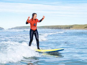 4 Day Luxury Weekend Surf and Yoga Retreat in Cornwall in a Beautiful Spa Hotel